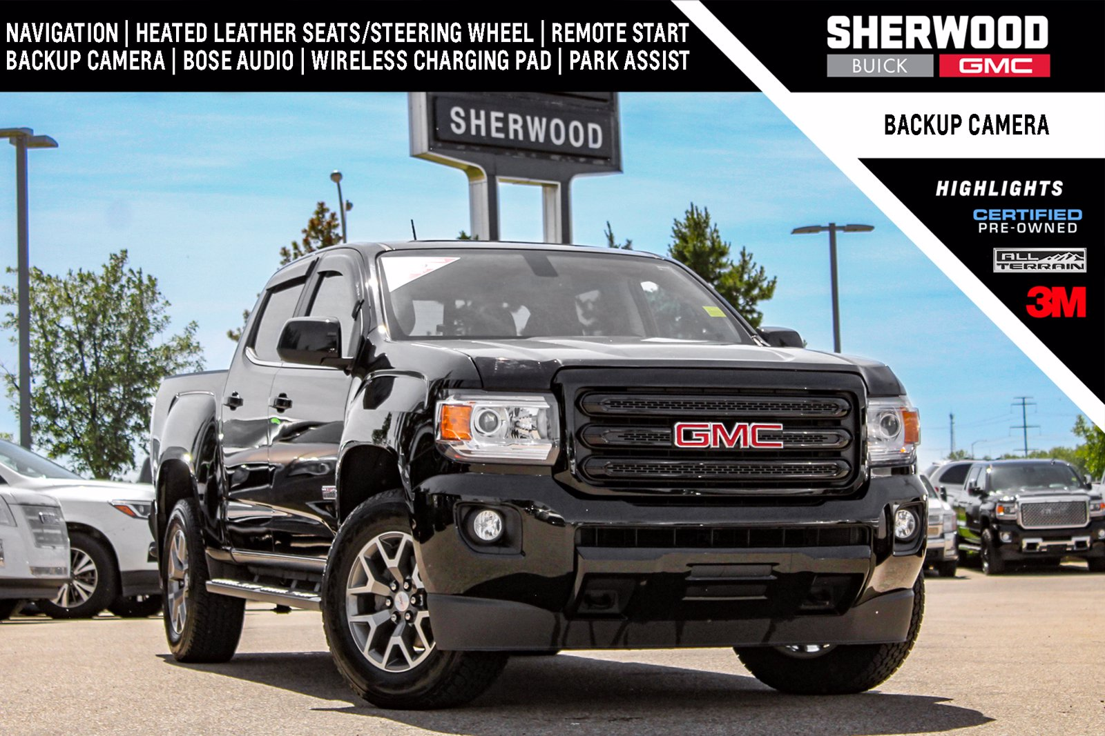 Certified Pre-Owned 2019 GMC Canyon SLT All Terrain 4WD Crew Cab Pickup