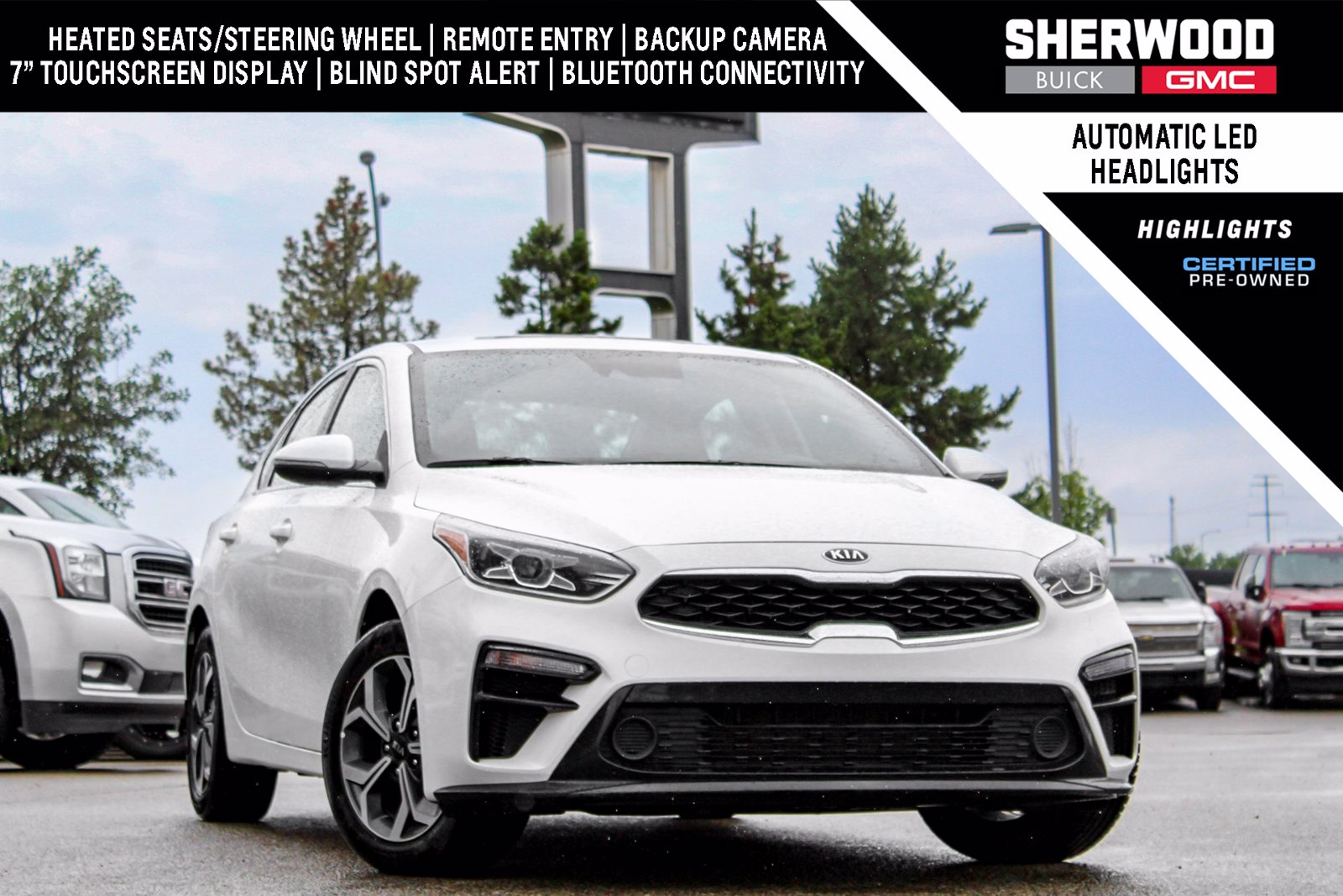 Certified Pre-Owned 2019 Kia Forte EX 2.0L FWD 4dr Car