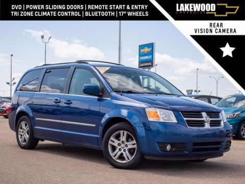 Pre-Owned 2010 Dodge Grand Caravan SXT 4.0L FWD Mini-van, Passenger